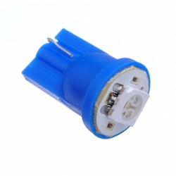 Led Led auto T10 5w5 azul de 1 smd mínimos, interior, matrícula