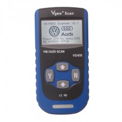 Diagnóstico Vgate VS450 Grupo VAG , audi, vw , seat , skoda