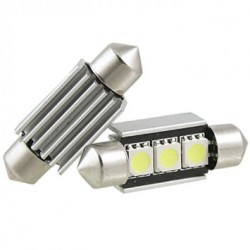 Led tubular 36mm 3smd canbus