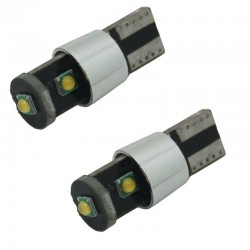 Led T10 W5W Cree 15W  Canbus Branco