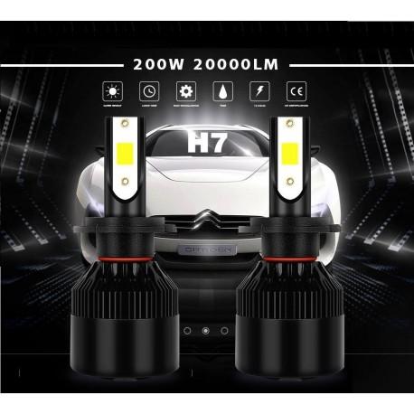 Lampada Led h7 200w xenon