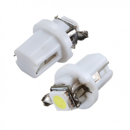 Led auto T5 B8.5D 1smd, quadrante, consola central