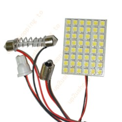 Placa led 48 smd, interior, bagageira